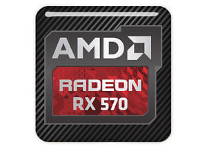 AMD Radeon RX 570 4GB - Quad Head, DVI, HDMI, Display Port