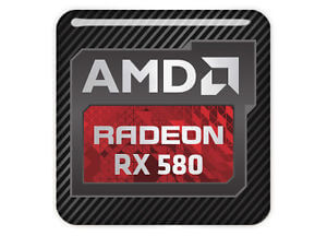 AMD Radeon RX 580 4GB - Quad Head, DVI, HDMI, Display Port