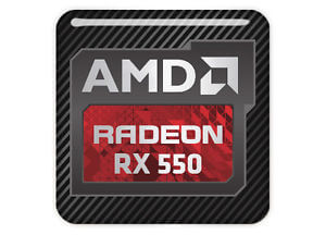 AMD Radeon RX 550 2GB - Dual Head, DVI, HDMI, Display Port