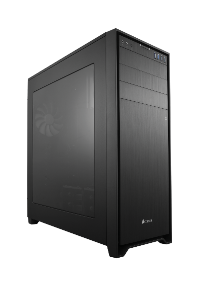 Corsair Obsidian 750D Airflow, side window & front USB 3.0 & 2.0