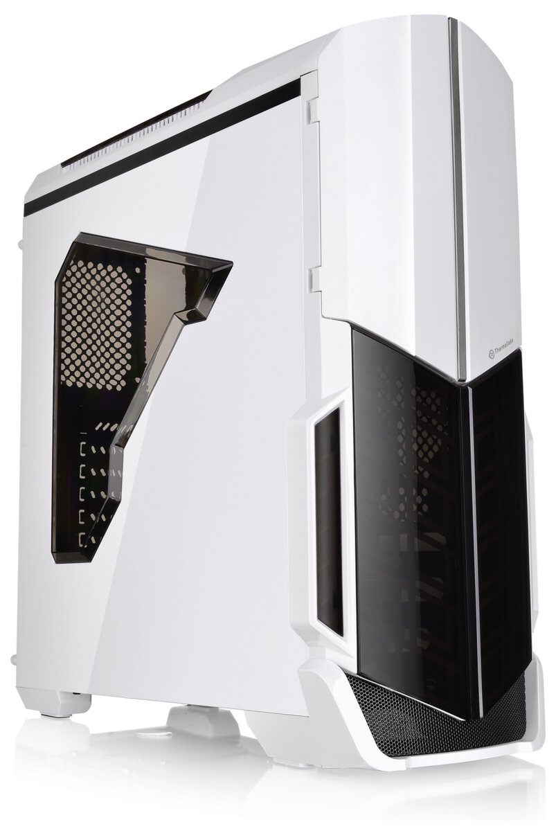Thermaltake Versa N21 snow, side window, front USB 2.0 & 3.0