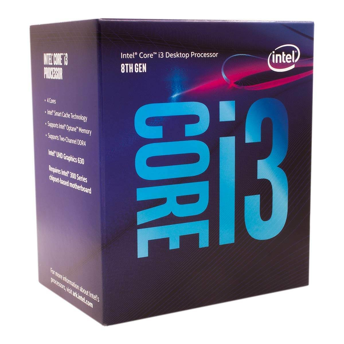Intel Core i3-8100 Coffee Lake 3.6GHz Quad-Core