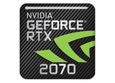 GeForce RTX 2070 8GB - Quad Head, HDMI, Display Port (Requires 750W Power Supply or Higher)