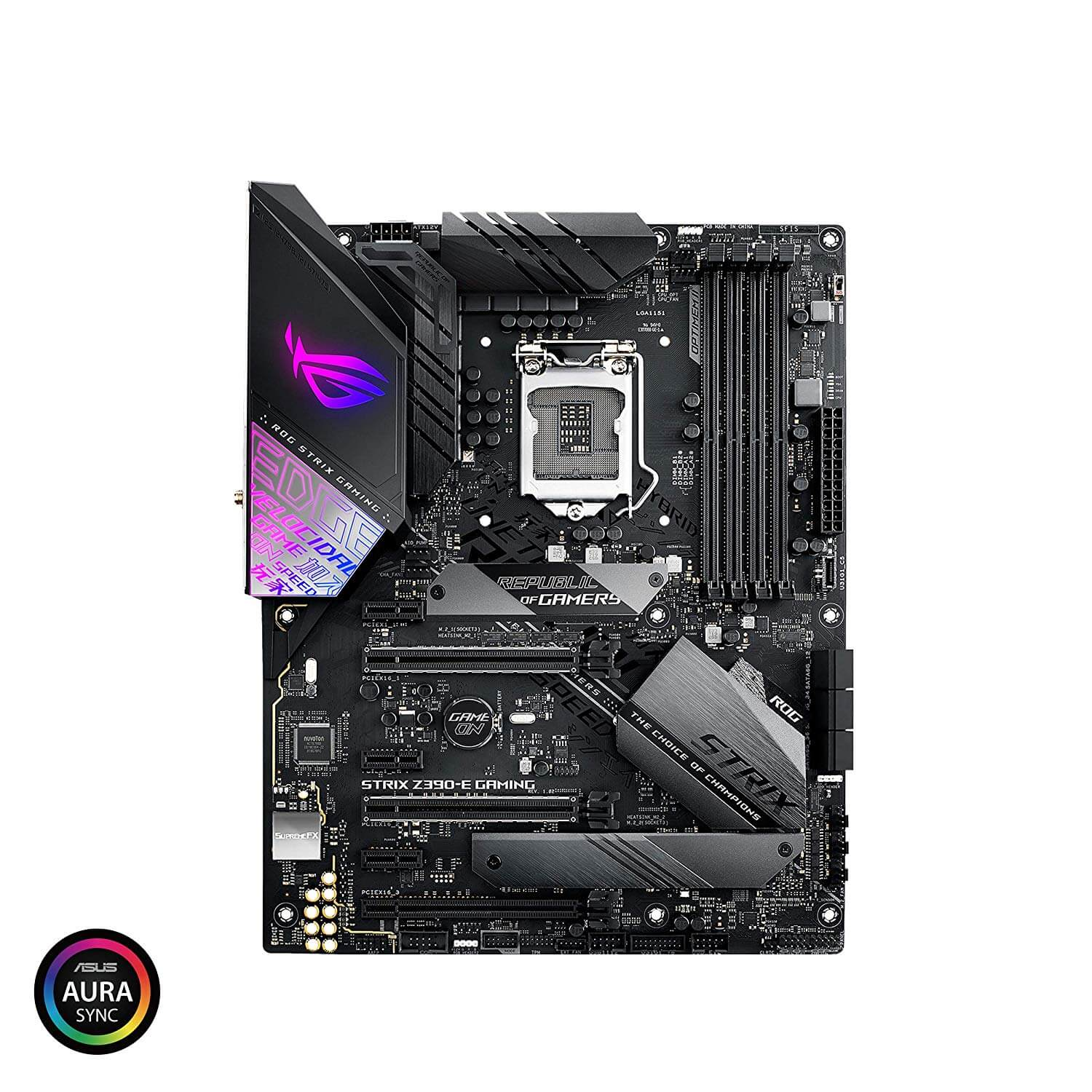 ASUS ROG Strix Z390-E Gaming, HDMI, SLI & X-Fire, USB 3.1 Gen2, USB C, AC WiFi+Bluetooth