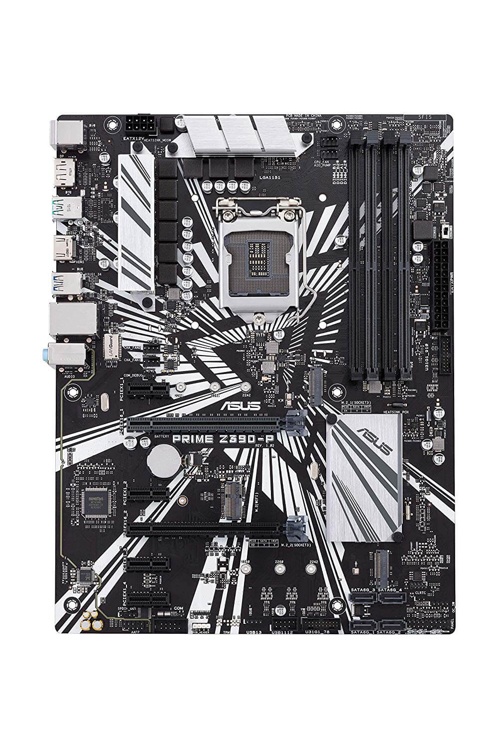 ASUS Prime Z390-P, Onboard Video HDMI, X-Fire, GB LAN,  USB 3.1 Gen 2