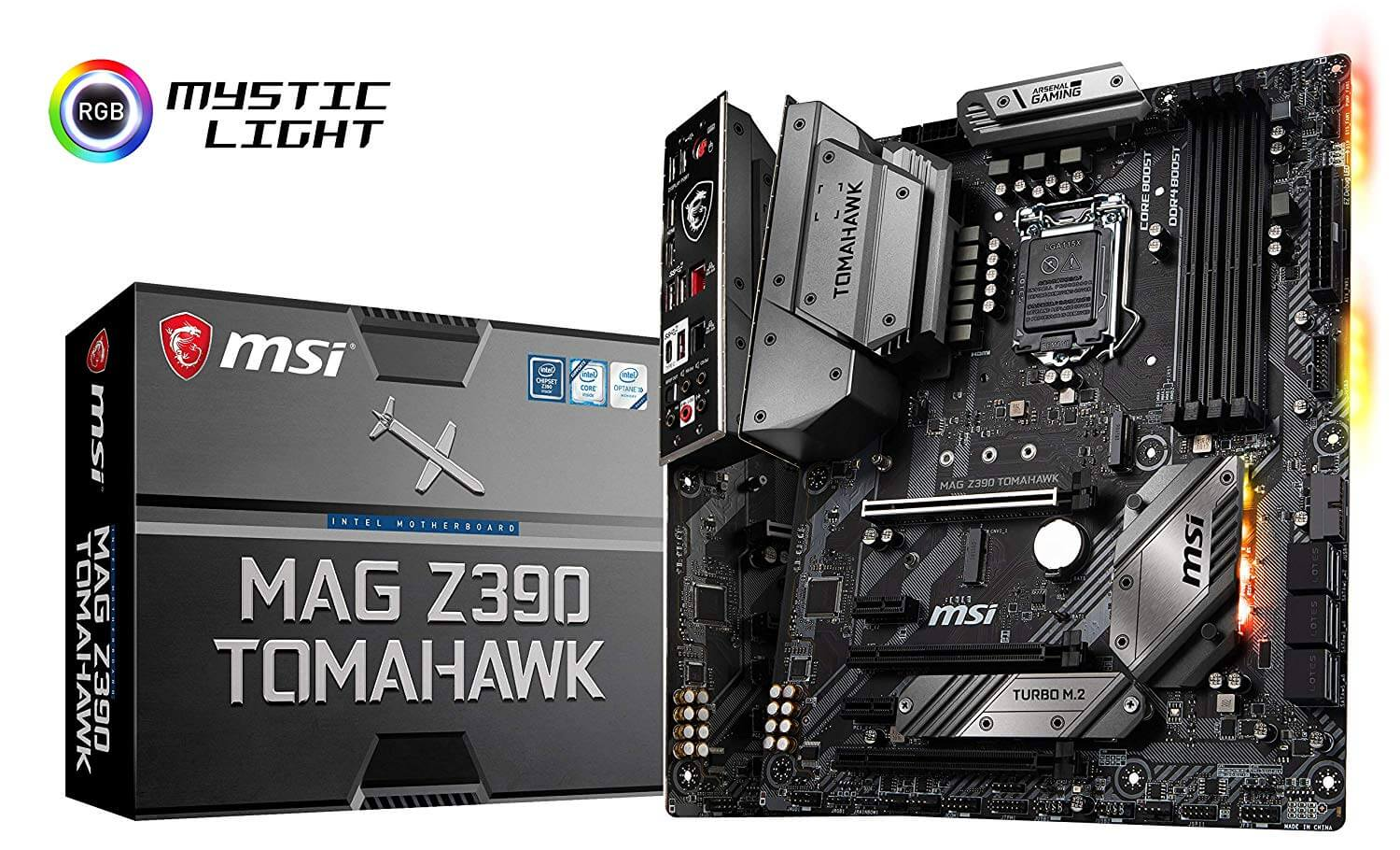 MSI Z390 TOMAHAWK, Onboard Video HDMI,  X-Fire, GB LAN, USB 3.1 Gen2,USB-C