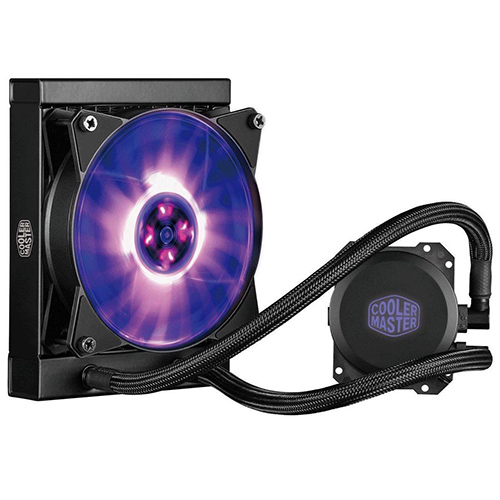 Cooler Master MasterLiquid Lite ML120L RGB, extra quiet Liquid Cooling System